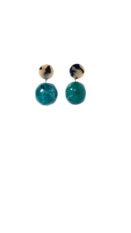 Rachel Comey Gumdrop Earring - Malachite