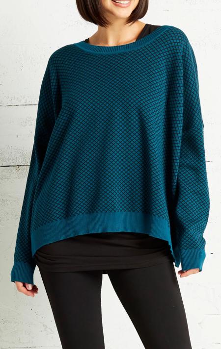 Planet Cross Hatch Sweater