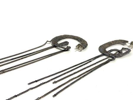 Studio Method Chain Shoulder Dusters - Sterling Silver