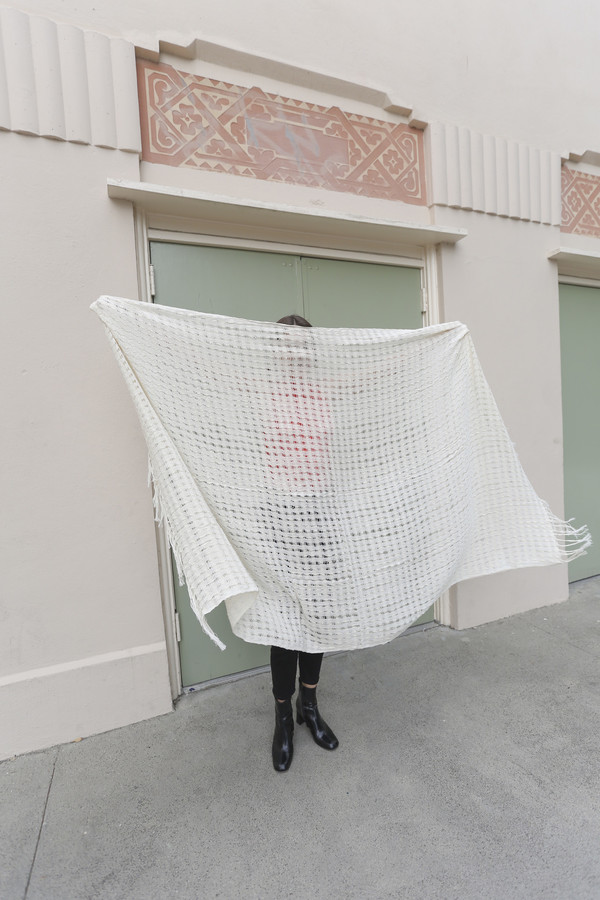 Mexchic Wabi-Sabi Blanket in Cream
