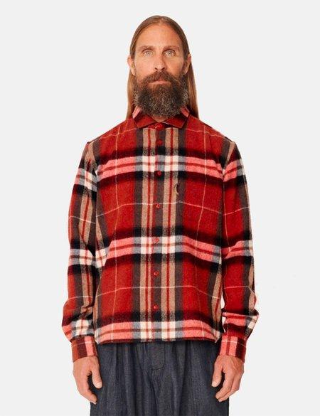 YMC Curtis Shirt - Red