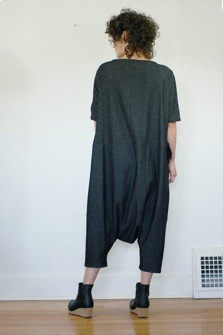 Lu. Back To Life No. 1 Jumpsuit - Black Denim