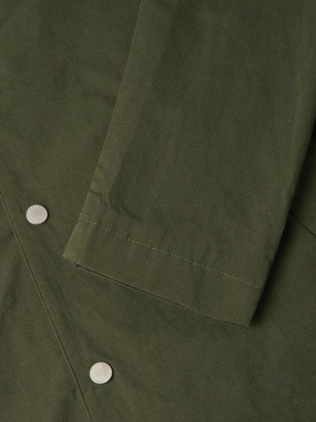 Wax London Navarino Corsaro coat - Dark Khaki