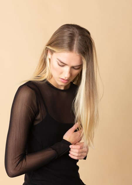 Brazeau Tricot Tulle T-Shirt