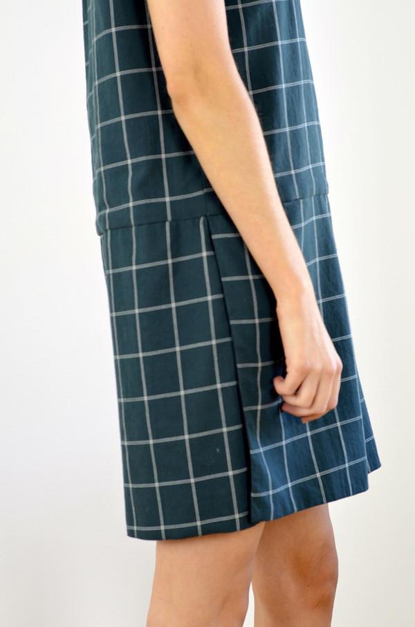 Margaux Lonnberg Mila Checks Dress Green