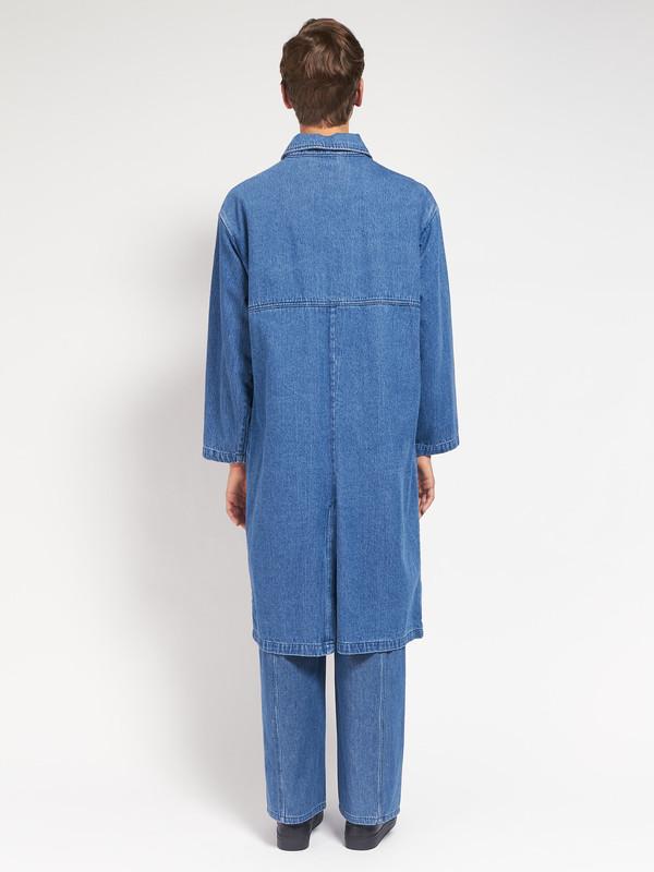 Men's 69 Simple Coat Blue