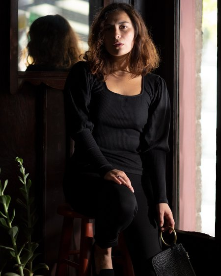 Altar Houseline Loie Sweater - Black