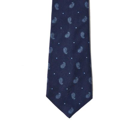 Corridor Blue Paisley Tie