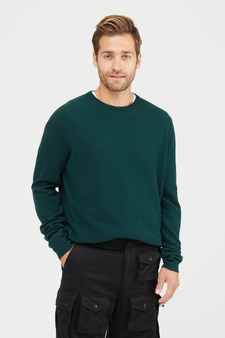 Presidents Washed Wool Crew Neck Sweater - Alloro