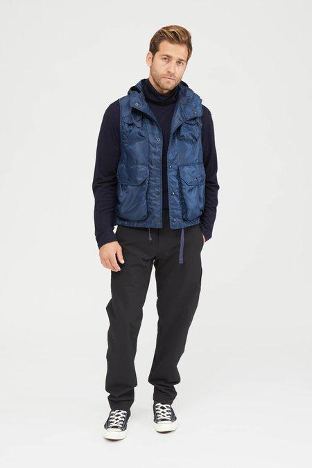 Engineered Garments Polyester Pilot Twill Field Vest - Navy
