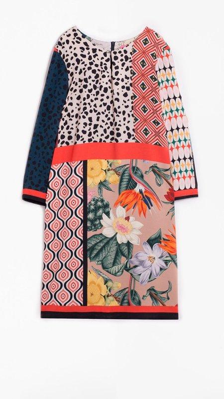 Vilagallo Tesa Dress - Patchwork