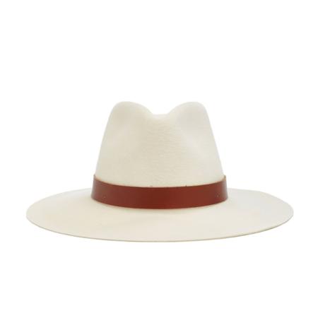 Janessa Leone SABLE hat - OFF WHITE