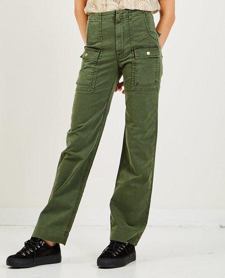Mother Denim The Rambler Patch Pocket Sneak Jeans - Duffle Bag