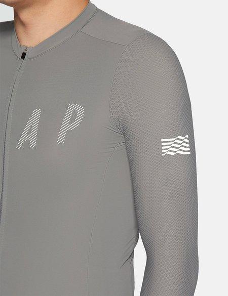 MAAP Echo Pro Base L/S Jersey - Ash Grey