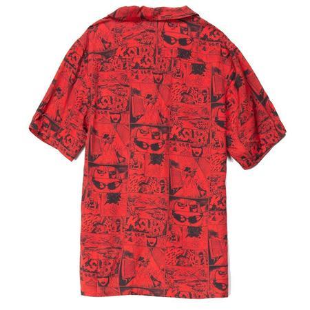 Ksubi Clash Short Sleeve Shirt - Red