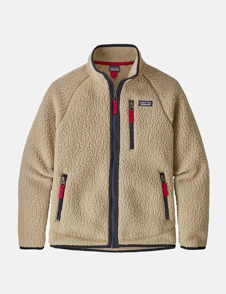 Patagonia Boys' Retro Pile Jacket - beige