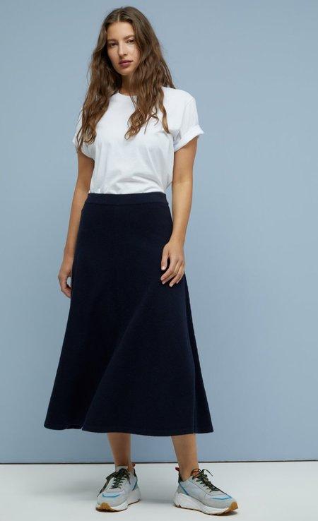 CLOSED Italian Wool Skirt - Dark Night