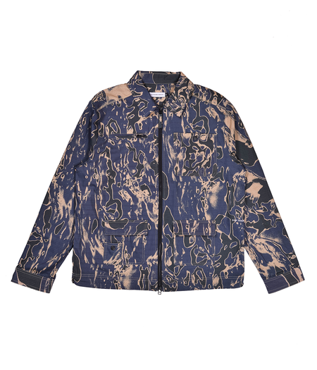 Pop Trading Company SAFE-TRIP POP Jacket - Trippy Camo