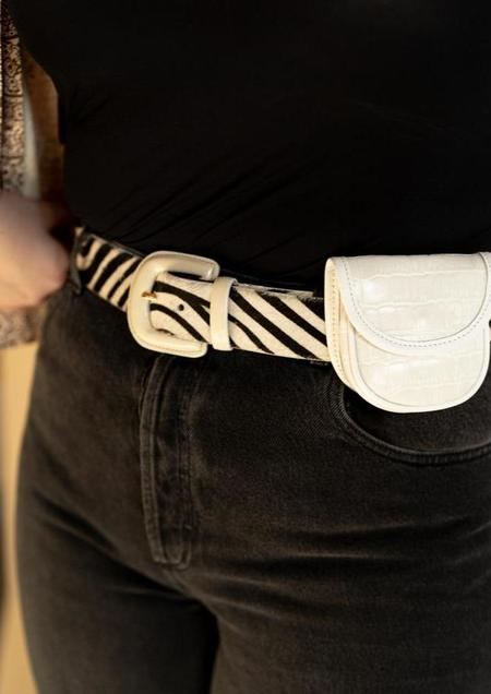 Paloma Wool Scott II Belt - Zebra