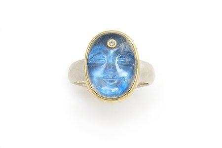 Tony Malmed Jewelry Absinthe Ring - 18k gold