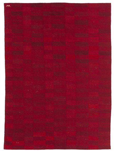 Dhoku Karma Kilim 6'10 x 8'11 - Red