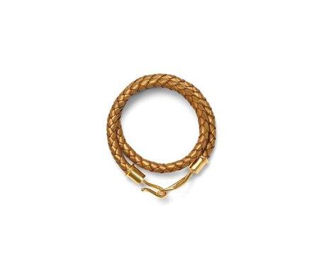 Catherine Canino Lasso Hook Leather Wrap Bracelet