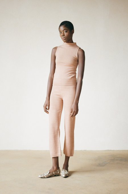 Maria Stanley earth dyed MOCKNECK - spice