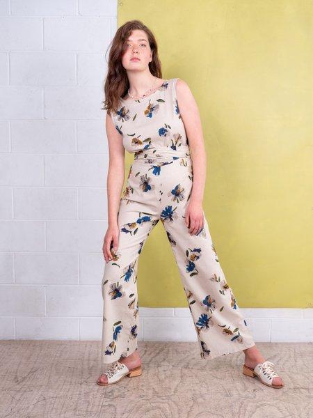 FME Apparel Sadie Jumpsuit - Printed Flower