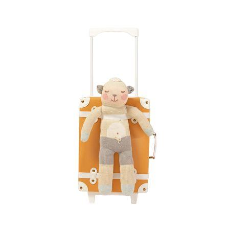 Kids Olli Ella New! See-Ya Suitcase - Apricot