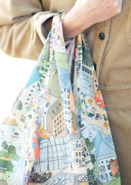 Stine Goya Idunn Market Bag - City Print