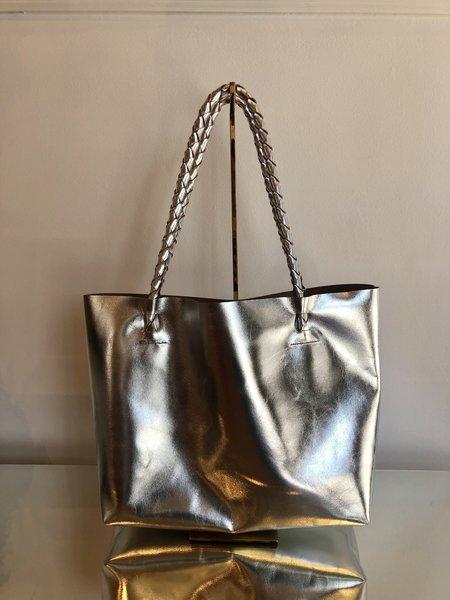 ARA Handbags TOTE NO. 1 - SILVER