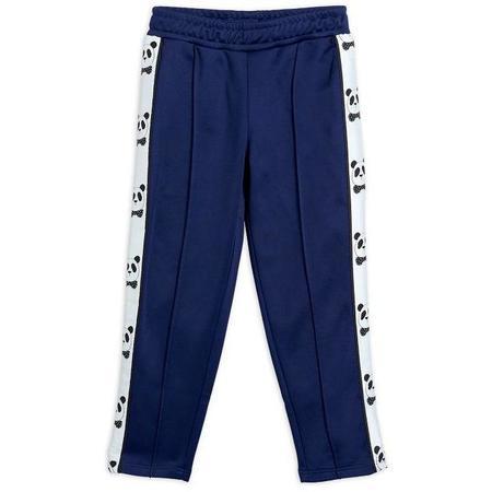 kids mini rodini panda trousers - navy