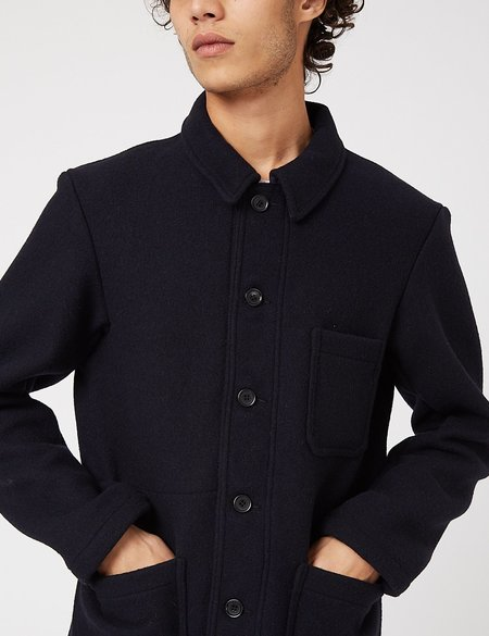 Vetra Workwear Double Wool Jacket - Marine