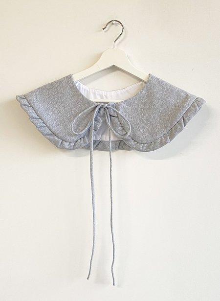 Eliza Faulkner Ruffled Collar - Grey