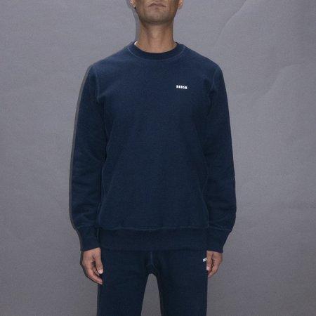 Unisex Hndsm Logo Crewneck Sweatshirt - Navy