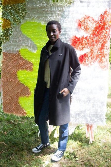 Valérie Dumaine Damaris Coat - Black