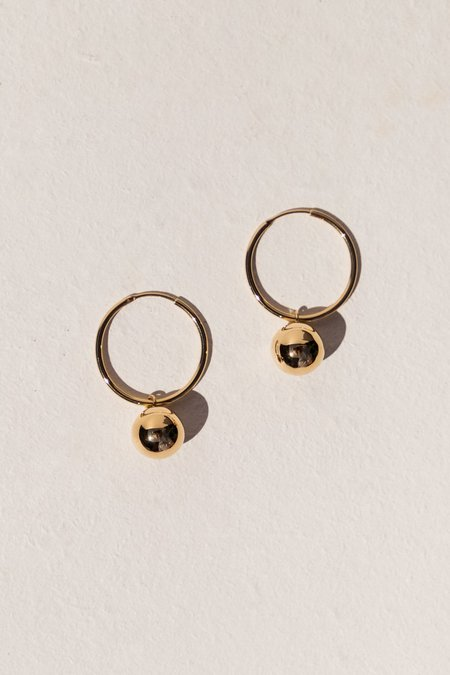 Flash Jewellery Disco Hoops - 14K Vermeil