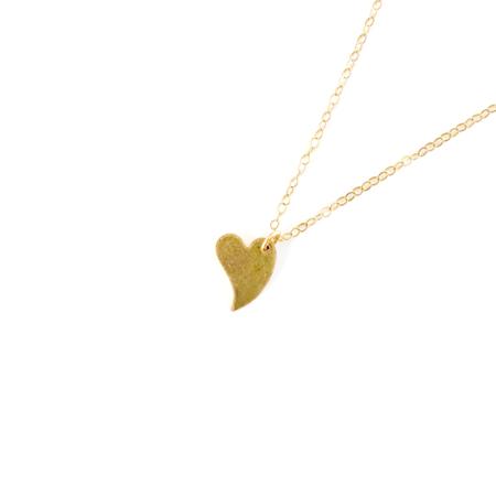 Bijoux B Heart Necklace - 14k Gold Fill