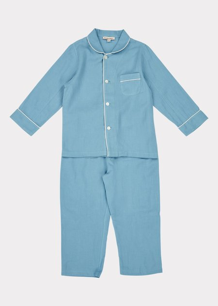 kids Caramel Child Pyjamas - Cloud Blue