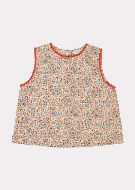 KIDS Caramel Girl Pyjamas - Paisley Print