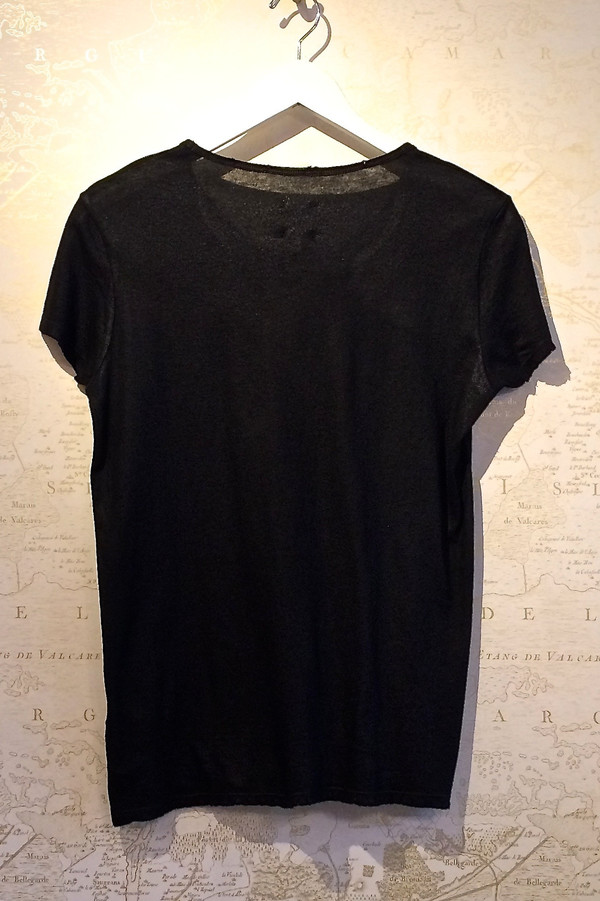 RtA 'Nicola' Coated Distressed Tee