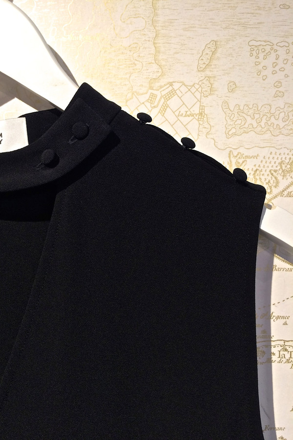 Derek Lam 10 Crosby Sleeveless Dress with Choker Detail