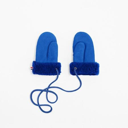 toasties shearling mittens - blue
