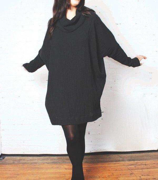 Uzi Poncho Dress