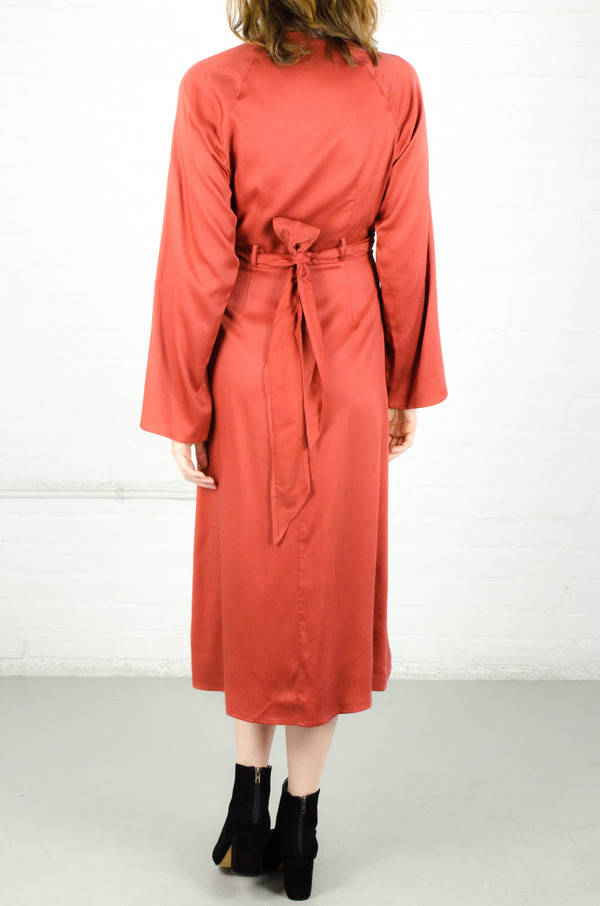 Shaina Mote Rust Taiga Dress