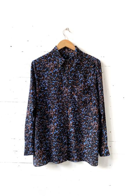 No.6 Luke Shirt - Blue Jungle