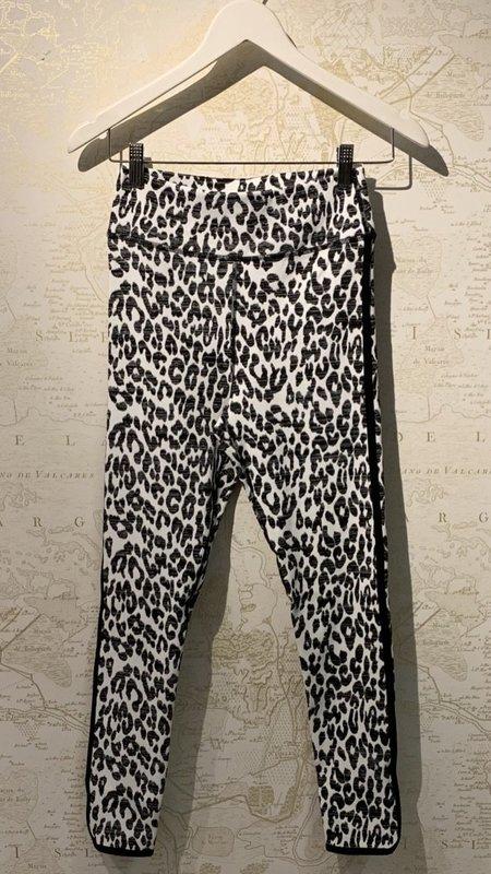 The Upside Dance Midi Pant - Snow Leopard