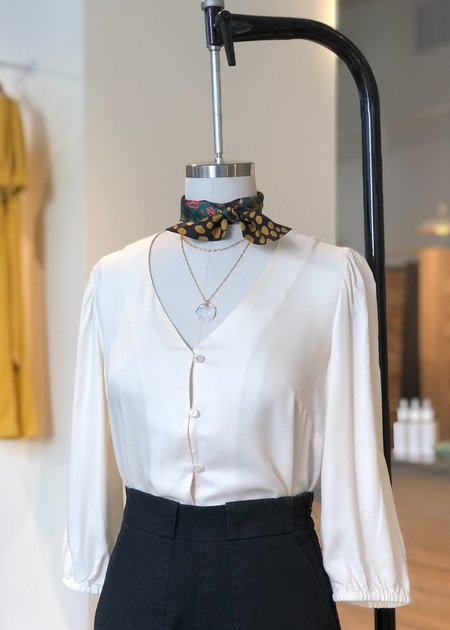 Mabel and Moss Laura Blouse - Cream