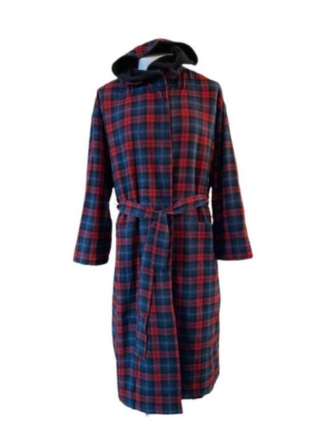Majestic International Fleece Lined Hooded Robe