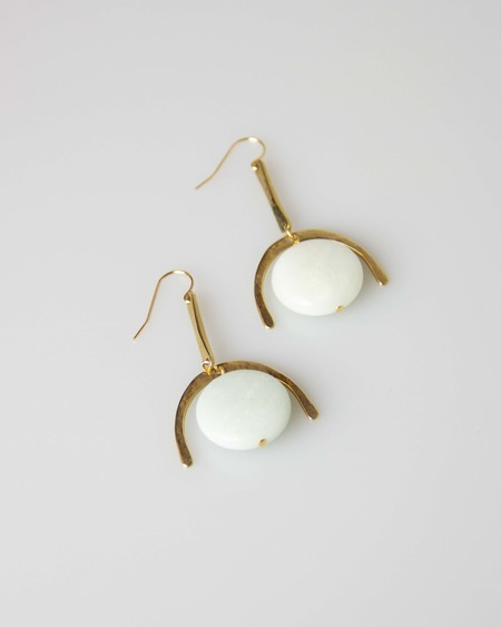 Son of a Sailor Sonora Earrings - Gold/Amazonite